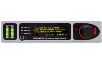 610 Internet Radio Monitor | Inovonics