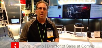 Chris Crump :: Connect Modem de Comrex en NAB Show 2016
