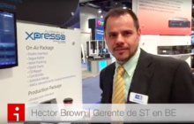 Hector Brown de AudioVAULT Flex en NAB Show 2016