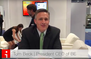Tom Beck, CEO de BE, en NAB Show 2016