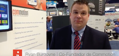 Ryan Burgoyne de Commotion en NAB Show 2016