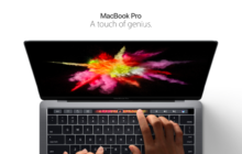 Apple lanza su nueva MacBook Pro con Touchbar y TouchID