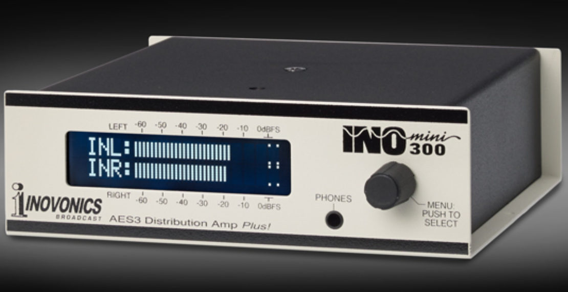 INOmini 300 / AES Distribution Amp Plus! l Inovonics