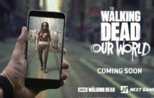 Mata a zombies de The Walking Dead al estilo Pokémon Go
