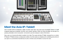 Axia IP-Tablet